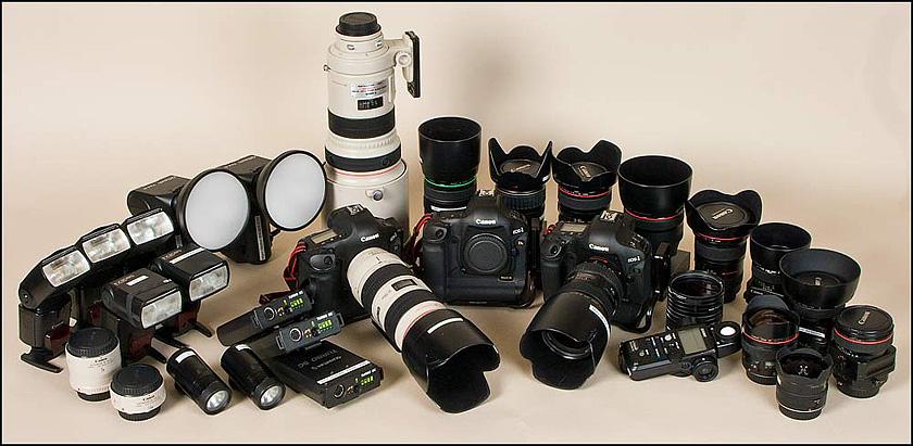 equipment wedding camera professional cameras digital much photographer fotografico storage does every boxing supplies dslr equipamentos para senao maintenance center