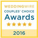 WeddingWire2016Couple's Choice Award